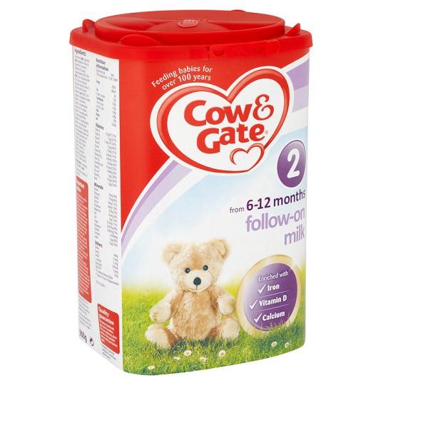 英國版牛欄奶粉二段