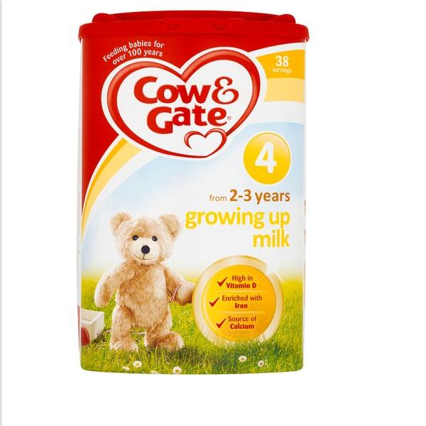 英國版牛欄奶粉四段
