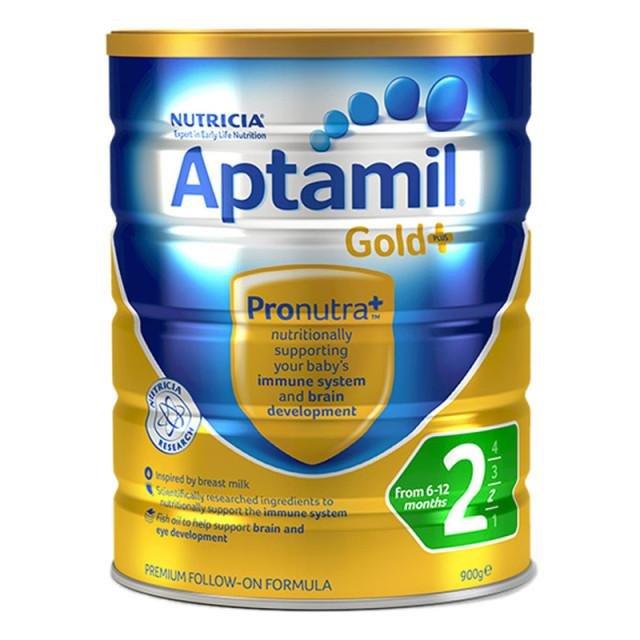 澳洲愛他美aptamil嬰幼兒奶粉2段