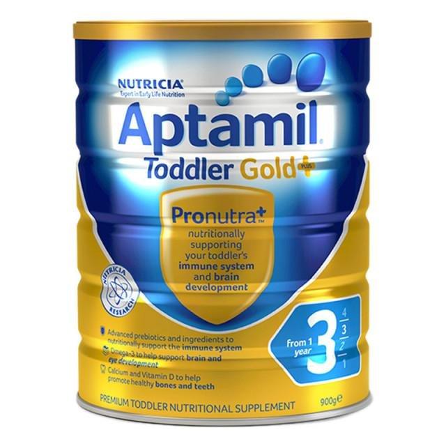 澳洲愛他美aptamil嬰幼兒奶粉3段