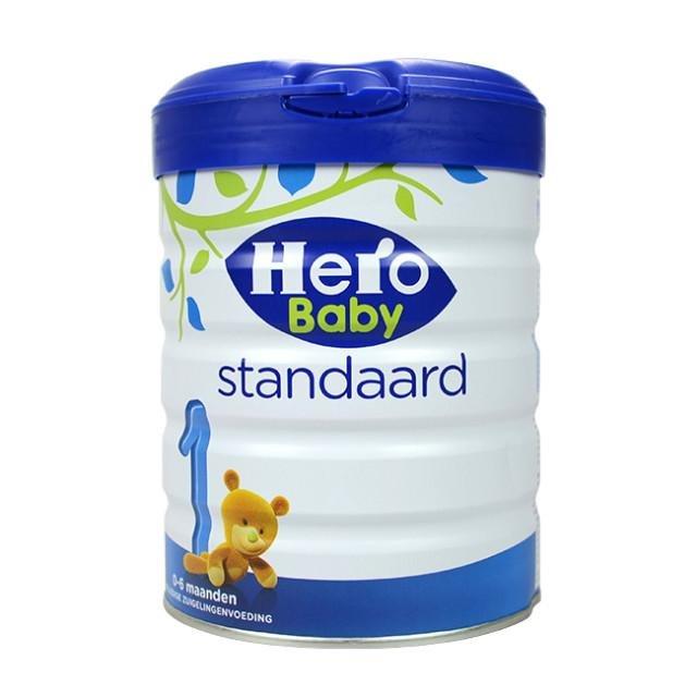 荷蘭Herobaby白金版嬰幼兒配方牛奶粉1段