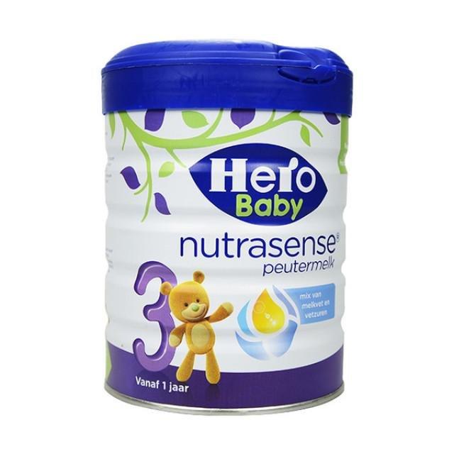 荷蘭Herobaby白金版嬰幼兒配方牛奶粉3段