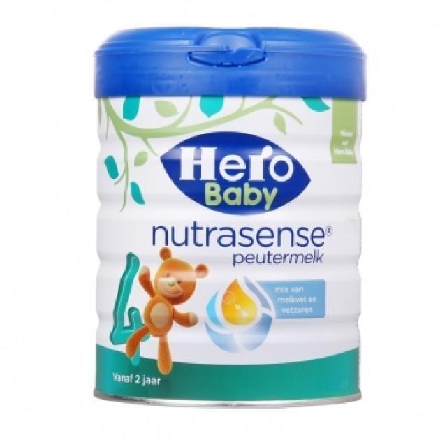 荷蘭Herobaby白金版嬰幼兒配方牛奶粉4段
