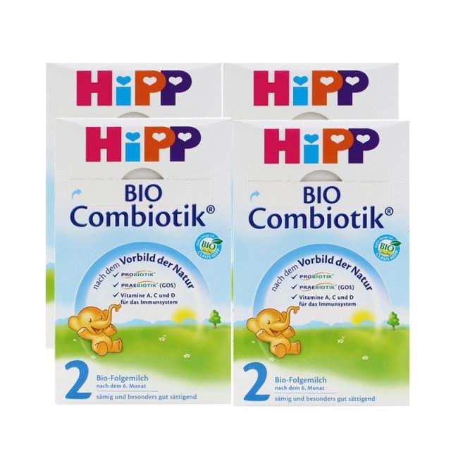 德国喜宝(HiPP)益生元系列 益生菌有机婴幼儿奶粉2段