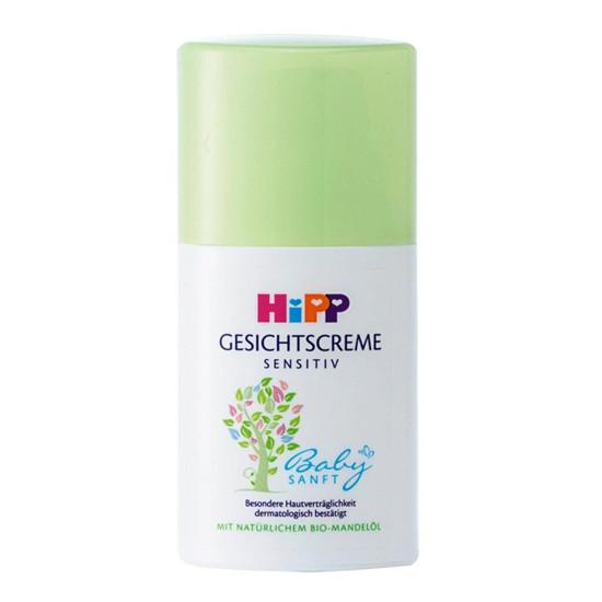HiPP喜宝面霜 含有机杏仁油 婴儿宝宝保湿霜