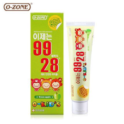 o-zone 8无儿童牙膏